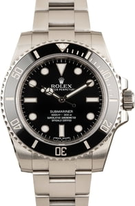Rolex Submariner 114060 Black Ceramic Bezel Insert