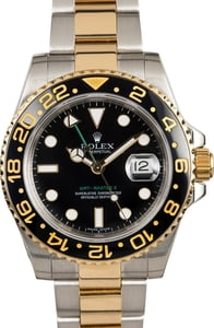 Used Rolex GMT-Master II Ref 116713 Engraved Rehaut