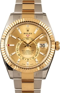 Pre-Owned Rolex Sky-Dweller 326933 Two-Tone Watch