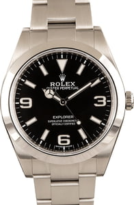 PreOwned Men's Rolex Explorer 214270 Stainless Steel