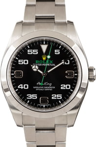 Rolex Air-King 116900 Black Dial