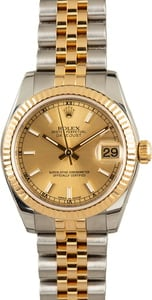 Rolex Mid-size Datejust 178273 Champagne