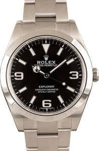 Rolex Explorer 214270 Luminous Arabic Dial
