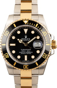 Rolex Submariner 116613 Black Ceramic Bezel