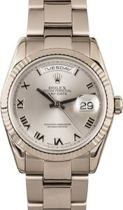Used Rolex Day-Date 118239 Roman Dial