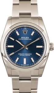 Rolex Oyster Perpetual 124200 Blue