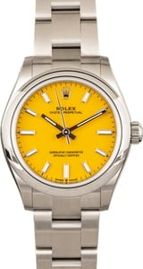 Rolex Oyster Perpetual 277200 Yellow