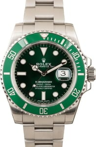 Rolex Submariner 116610V Anniversary Model 'Hulk'