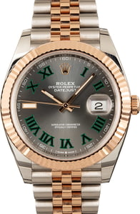 Rolex Datejust 126331 Two Tone Everose Jubilee