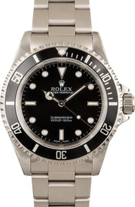 Rolex Submariner No Date Model 14060