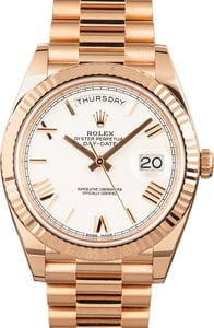 Rolex Day-Date 228235 Everose Gold President