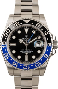 "GMT-Master II Rolex 116710 ""Batman"" Ceramic"