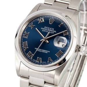 Pre Owned Rolex Datejust Steel 16200