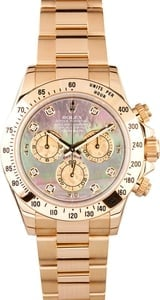 18K Yellow Gold Rolex Daytona