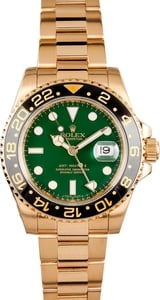 Rolex GMT Master II Ceramic 116718 Green Dial