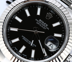 Rolex DateJust 2 Black Luminous Dial 116334
