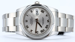 Rolex Datejust Oyster 116200 Silver Dial