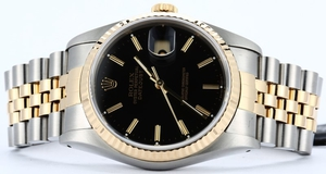Rolex Datejust 16233 Jubilee Black Index
