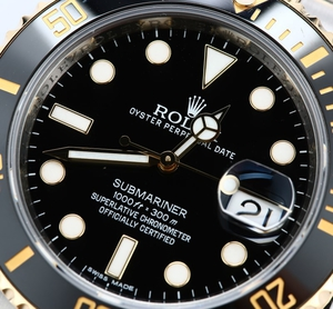 Rolex Submariner 116613 Black Dial