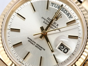 Rolex President Day-Date 1803 Pie-Pan Dial