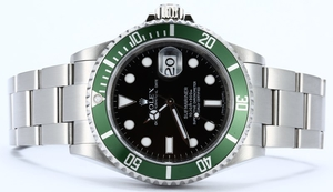 Rolex Submariner Anniversary 16610V Green