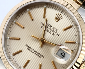 Datejust Rolex 16233 Champagne Tapestry Dial