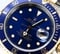 Rolex Submariner Blue Bezel 16613 100% Authentic