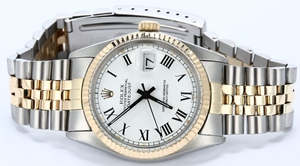 Rolex Datejust 16013 White Dial