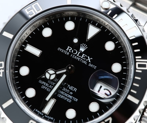 Rolex Black Submariner 116610 Ceramic Bezel