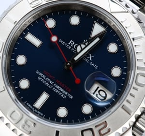 Rolex Yacht-Master 116622 Blue Dial