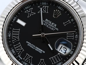Datejust 2 Rolex 116334 Black Roman