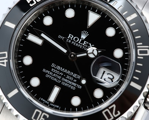 Rolex Submariner 116610 Ceramic Black Bezel
