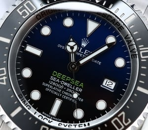 Rolex Deepsea Sea Dweller Blue 116660