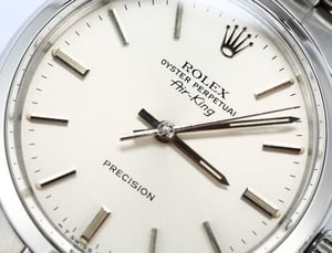Rolex Air King 5500 Stainless