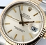 Rolex Datejust Silver 16233 Certified Pre-Owned