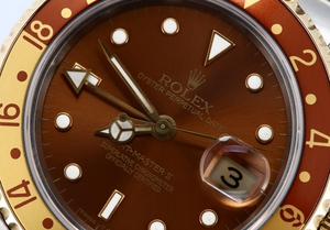 Rolex GMT Master 16713 Root Beer Dial