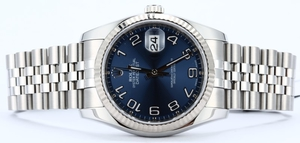 Rolex Datejust 116234 Concentric 100% Authentic