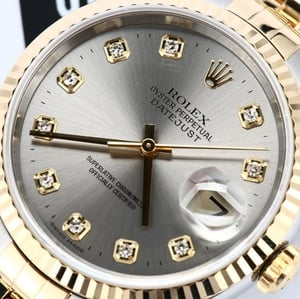 Rolex Datejust 16233 Diamond Certified Pre-Owned