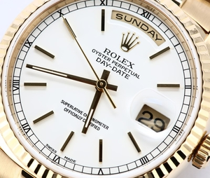Rolex President Day-Date 18238 Certified Pre-Owned