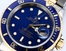 Rolex Two-Tone Submariner Blue 16613