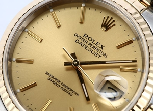 Rolex 16233 Datejust Champagne Dial