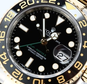 Rolex GMT-Master II 116713 Two Tone Black