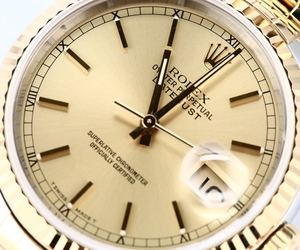 Datejust Rolex Two Tone 16233
