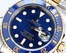 Rolex Submariner Blue 116613 100% Authentic