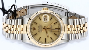 Rolex Datejust 16233 Steel and Gold Jubilee