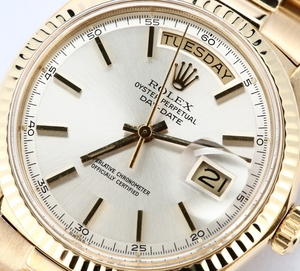 Rolex Presidential Day-Date 1803 Pie-Pan Dial
