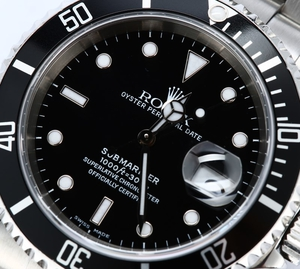 Submariner Rolex 16610 Stainless Steel Watch