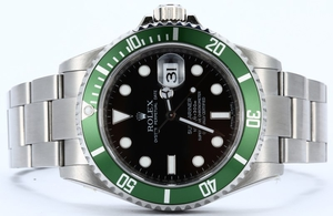 Rolex Submariner Anniversary Green 16610V
