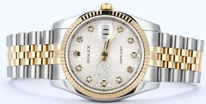 Rolex Datejust 116233 Diamond Dial