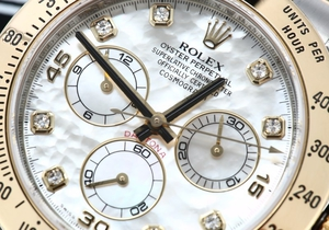 Rolex Daytona 116523 Diamond Mother of Pearl